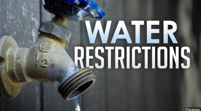 Water Restrictions – Stage 3