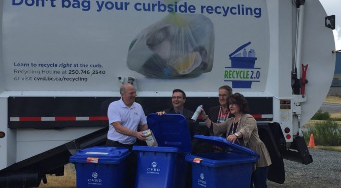 Curbside Recycling Tote Contamination