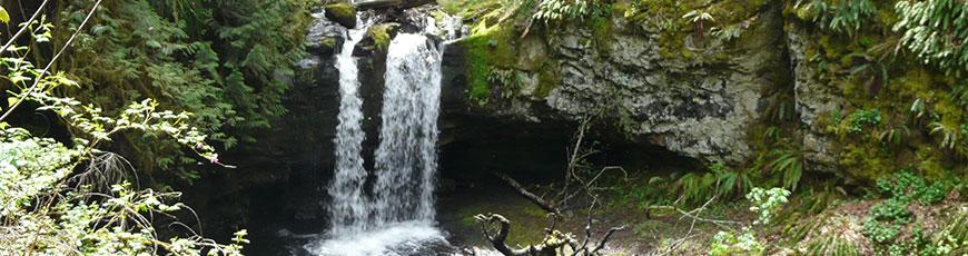 Slide waterfall