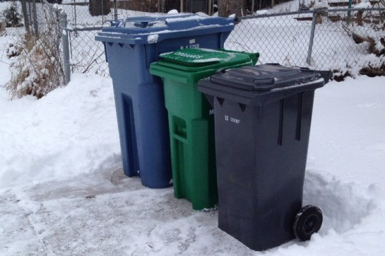 Curbside Collection Info in Extreme Weather