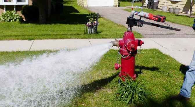 Water Systems Flushing Notice