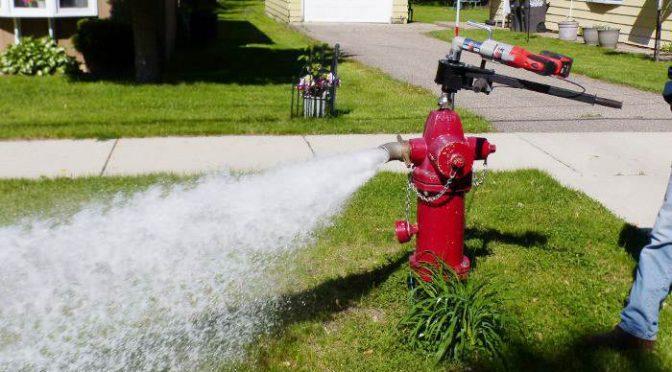 Saltair Water Main Flushing 2021