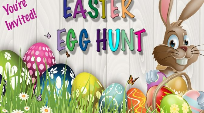 Saltair Annual Easter Egg Hunt