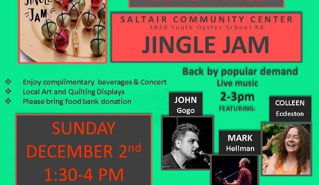 "Saltair Community ""Jingle Jam"" Concert"