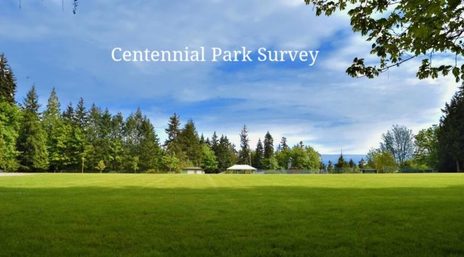 Saltair Centennial Park CVRD Official Survey