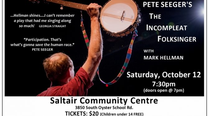 Saltair Concert – Pete Seeger's – The Incompleat Folksinger