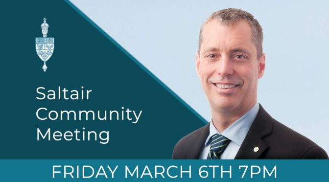 SALTAIR COMMUNITY MEETING WITH HOST MP PAUL MANLY