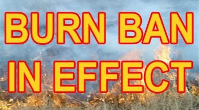 Open Burn Ban Across Cowichan Valley