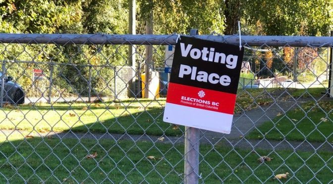 BC Elections Voting Available at Saltair Community Centre