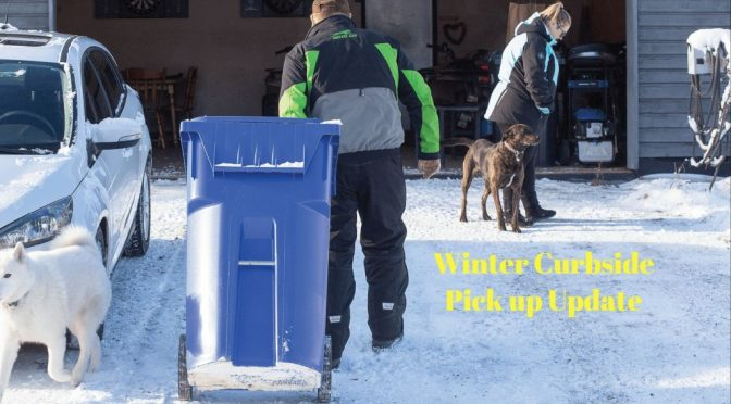 Winter Garbage Collection CVRD Notice