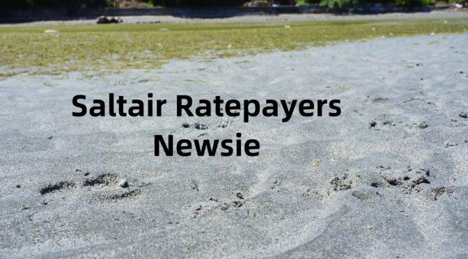 Saltair District Ratepayer's Association January Newsie