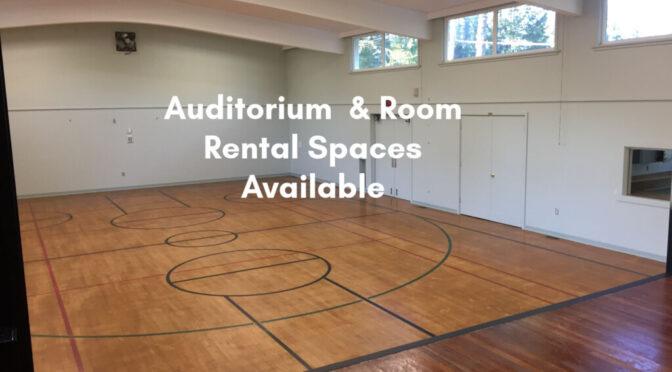 Saltair Community Centre is Open for Room & Auditorium Rentals