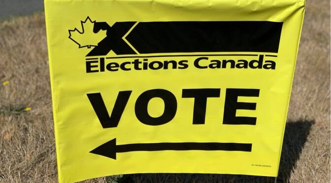 Saltair Community Centre Elections Canada Voting Station