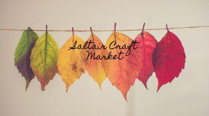 Saltair 2nd Annual Craft Market October 23rd